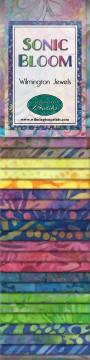 801 68 801 Sonic Bloom 2.5 in strips Wilmington Prints