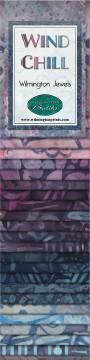 801 70 801 Wind Chill Batik 2.5 inch strips