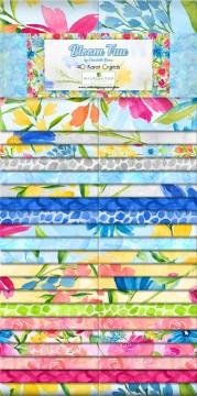 Bloom True by charlotte Grace 40 Karat Crystals 2 1/2 strips by Wilmington