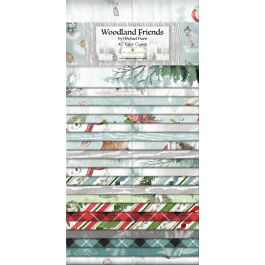 Woodland Friends - 40 Karet Crystals - 2.5 Strips