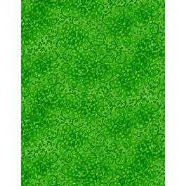 Leafy Scroll - Bright Green