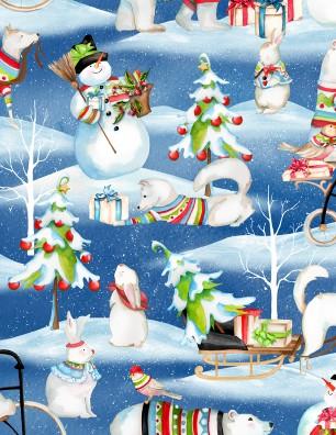 Wilmington prints Snowy Friends1665 33813 473