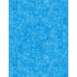 WILMINGTON PRINTS ESSENTIAL BRIGHTS BLUE WITH SWIRLS 39055 440