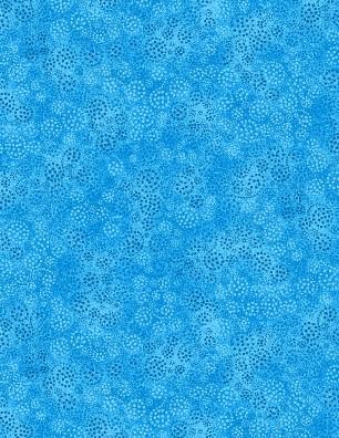 Sparkles Brt Blue FQ<br/>Wilmington Prints 39055-440