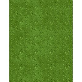 Wilmington Prints Petite Dots Green 1817 39065 777