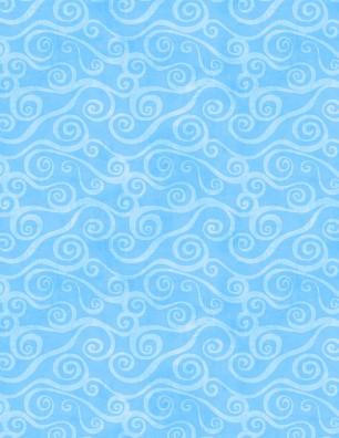 Essentials Swirly Light Blue