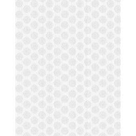 Circles and Stripes White on White