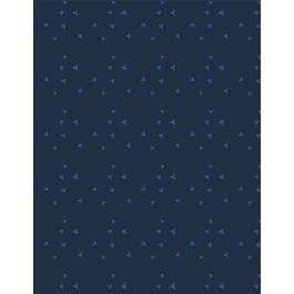 Tossed Triangles Navy