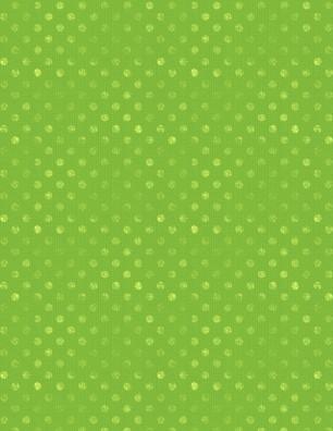Dotsy Lime Green