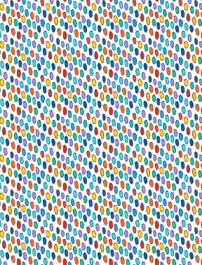 Hello Angel - Dots - Warm Multi