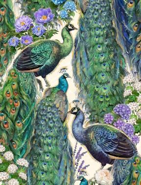 Plumage Peacocks Multi