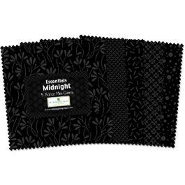 Essentials 5 Squares - Midnight