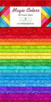 Magic Colors - 40 Karat Gems Strips
