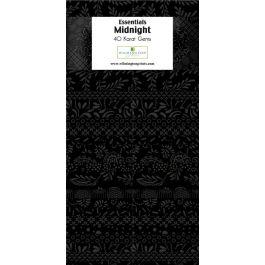 Fabric Precut Wilmington Strips Midnight 40 pcs