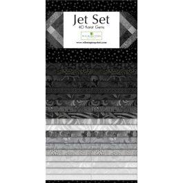 Jet Set 40 Karat Gems 2.5 Strip Pack