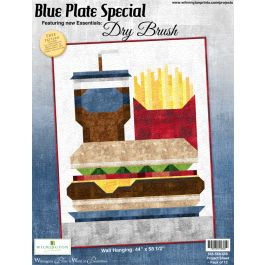 Blue Plate Special Pattern - Digital Download