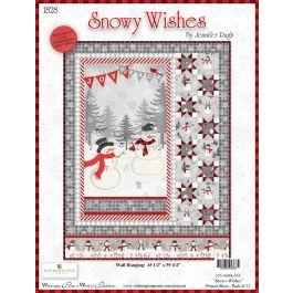 Snowy Wishes Jennifer Pugh Panel kit