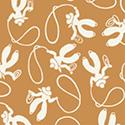 Windham Fabrics Storybook Ranch 50700-4 Yellow Rocking Horse