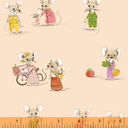 Country Mouse/City Mouse in Blush