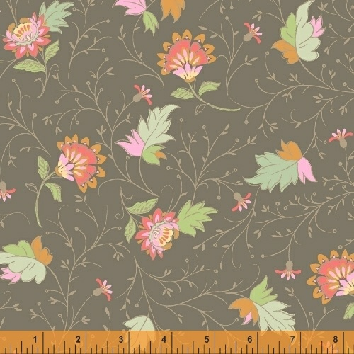 50932 3 Blythe by Sophia Santander for Windham Fabrics. 100% cotton 43 wide