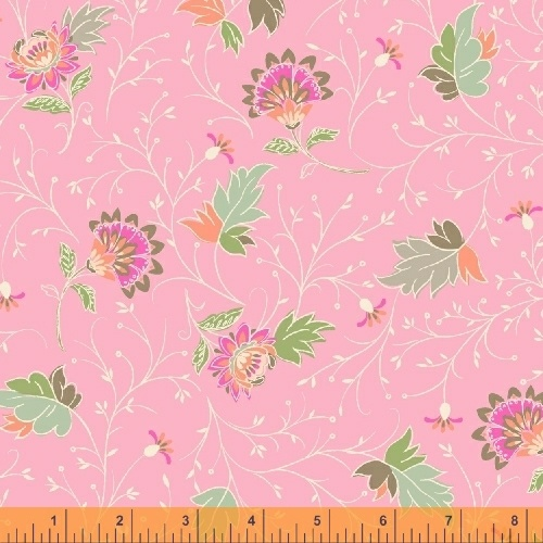 50932 5 Blythe by Sophia Santander for Windham Fabrics. 100% cotton 43 wide