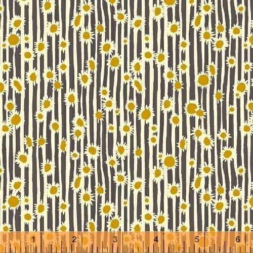 sunflowers in dusk