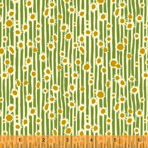 sunflowers in clover