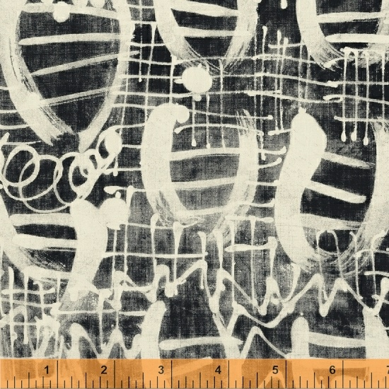 51069 2 The Opposite by Marcia Derse for Windham Fabrics. 100% cotton 43 wide
