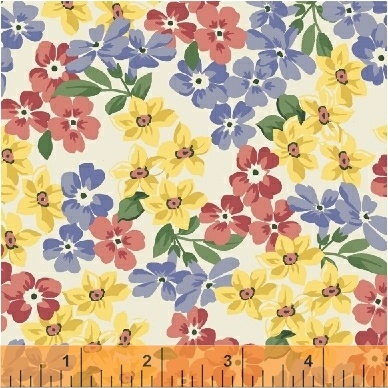 Pemberley Flannel - Small Floral