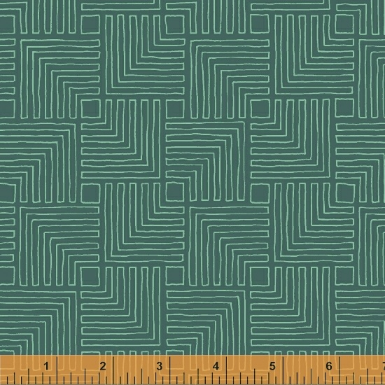 Good Vibes Only - Echoes Teal (51109-24)