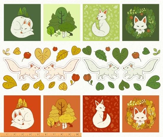 Forest Spirit Panel