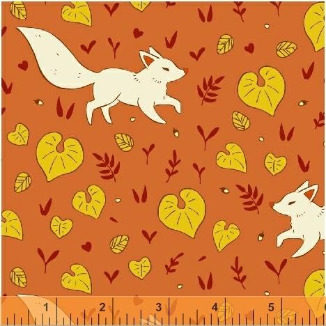 51113 1 Forest Spirit by Felice Regina for Windham Fabrics. 100% cotton 43 wide