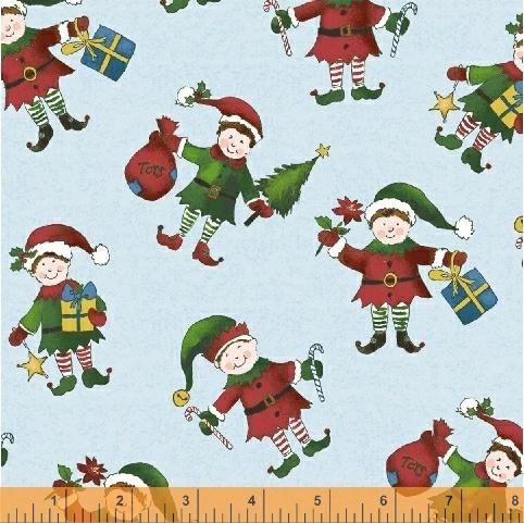 Holly Jolly Christmas Elfs on Ice  51169-1