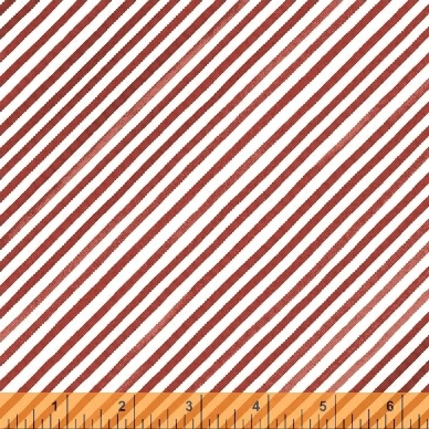 Holly Jolly Christmas Red and White Stripe 51173-5