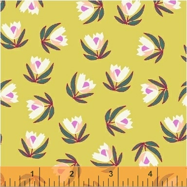 51244 4 Penelope by  Annabel Wrigley for Windham Fabrics. 100% cotton 43 wide