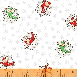 Candy Cane Lane Jack Frost on White  51255-1