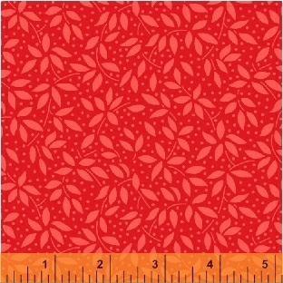 Candy Cane Lane Christmas Ivy Red 51259-5