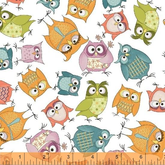Whoo's Hoo White Owlbert and Friends