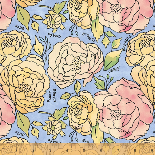 51654-1 Potpourri Bed of Roses/Bluebell