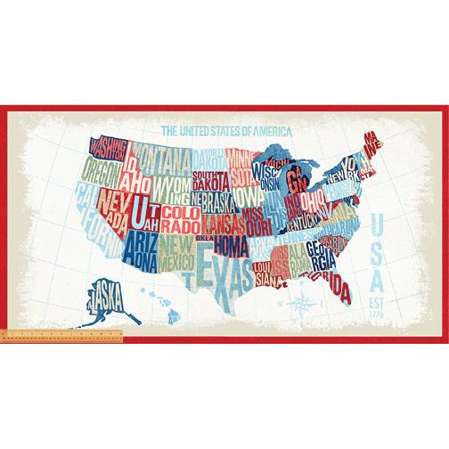 Panel- Across the USA Map