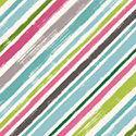 Catnip Diagonal Stripe Aqua 50826-3