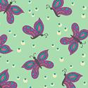 Gypsy Mint Leaf 50570-1 Butterfly