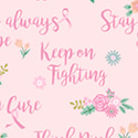 I Believe in Pink Support Words