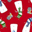 37302-2 White Heart Beat Calling All Nurses Windham Fabrics