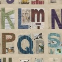 Marcia Derse Studio Alphabet Panel