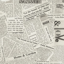 108 x 3YD Modern Newsprint 41946-4