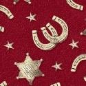 F-CB-WIN-RHD-01 Windham-RHD - Ranch Hands-01-Red w/ Horseshoes & Sherriff Stars