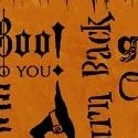 Orange Words - Halloween