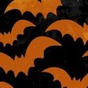 Black with orange Bats