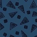 Midnight Fiesta Triangles